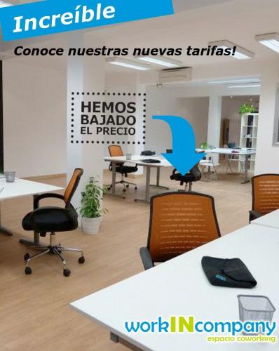 Coworking Sevilla :: hemos bajado el precio en workINcompany
