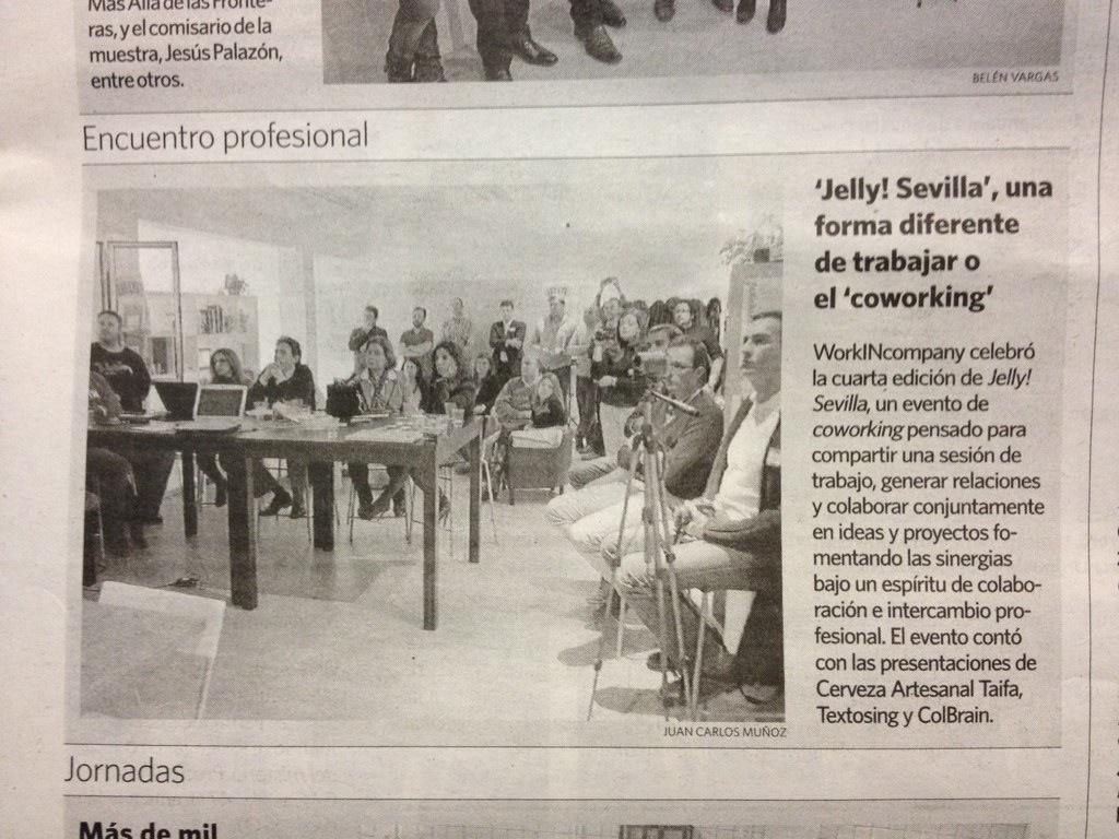 Cuarta edición de Jelly!Sevilla en workINcompany Sevilla