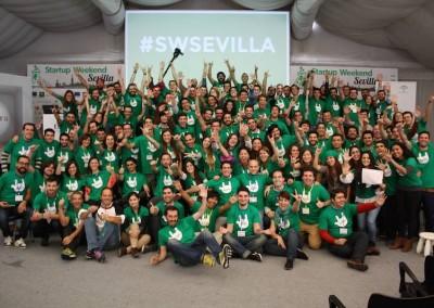 Sevilla Startup Weekend Noviembre 2014
