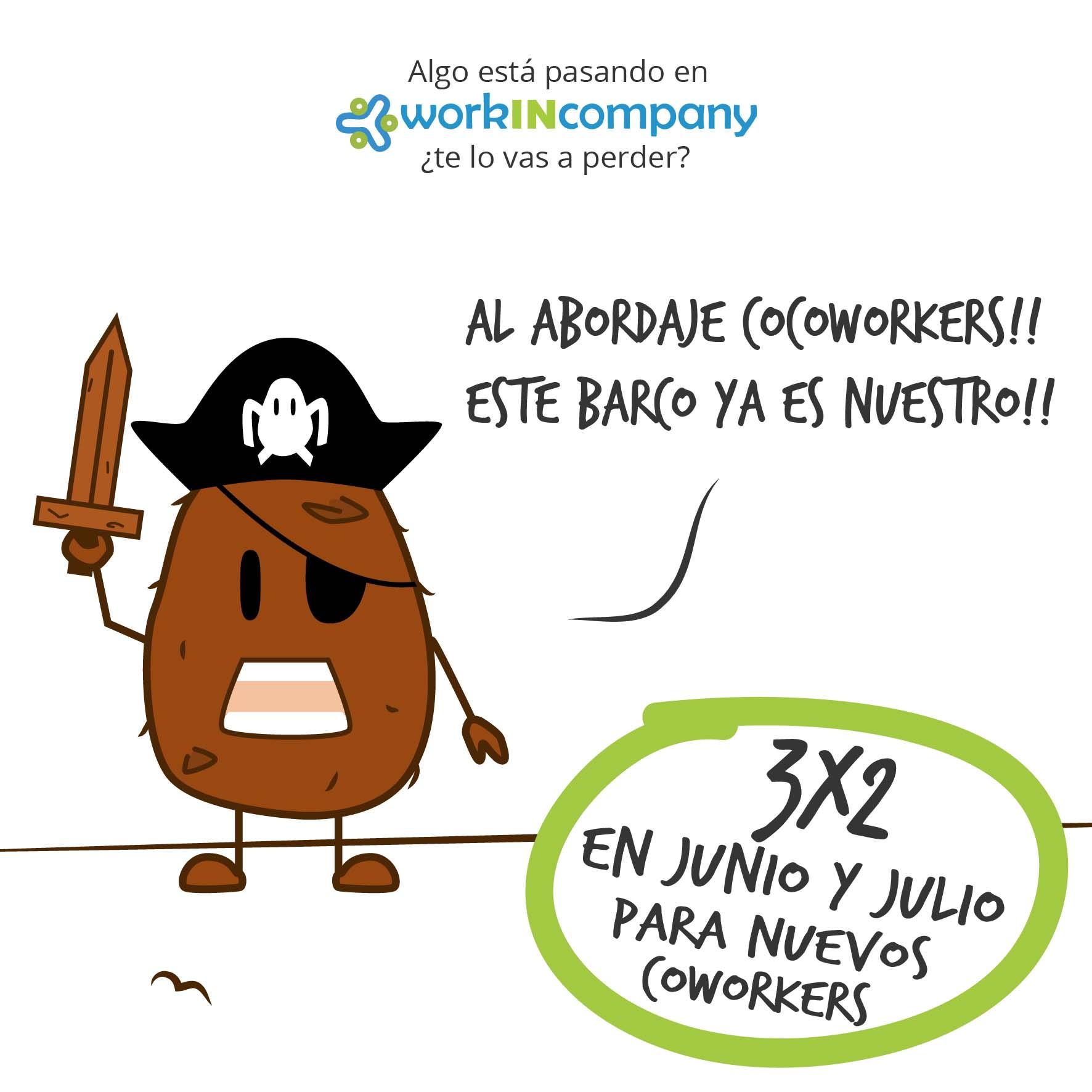 Cocoworker 6 - Pirata